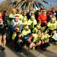 Equipo CSR en San Silvestre 2014 Atletas de Baleares